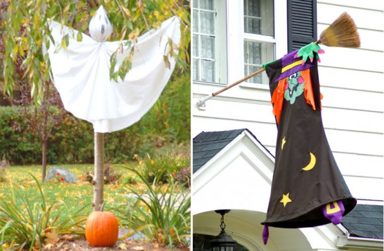 Decoracion Jardin Halloween ~ Ideas de decoraci?n para Halloween para el exterior o jard?n