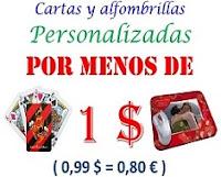 artscow cartas y alfombrillas por menos de 1 $