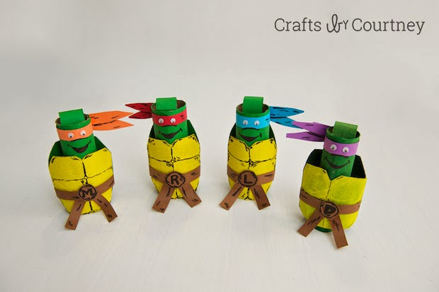 Teenage Mutant Ninja Turtle Finger Puppets