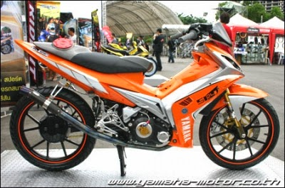 Top Modifikasi Yamaha Jupiter MX Airbrush 2014