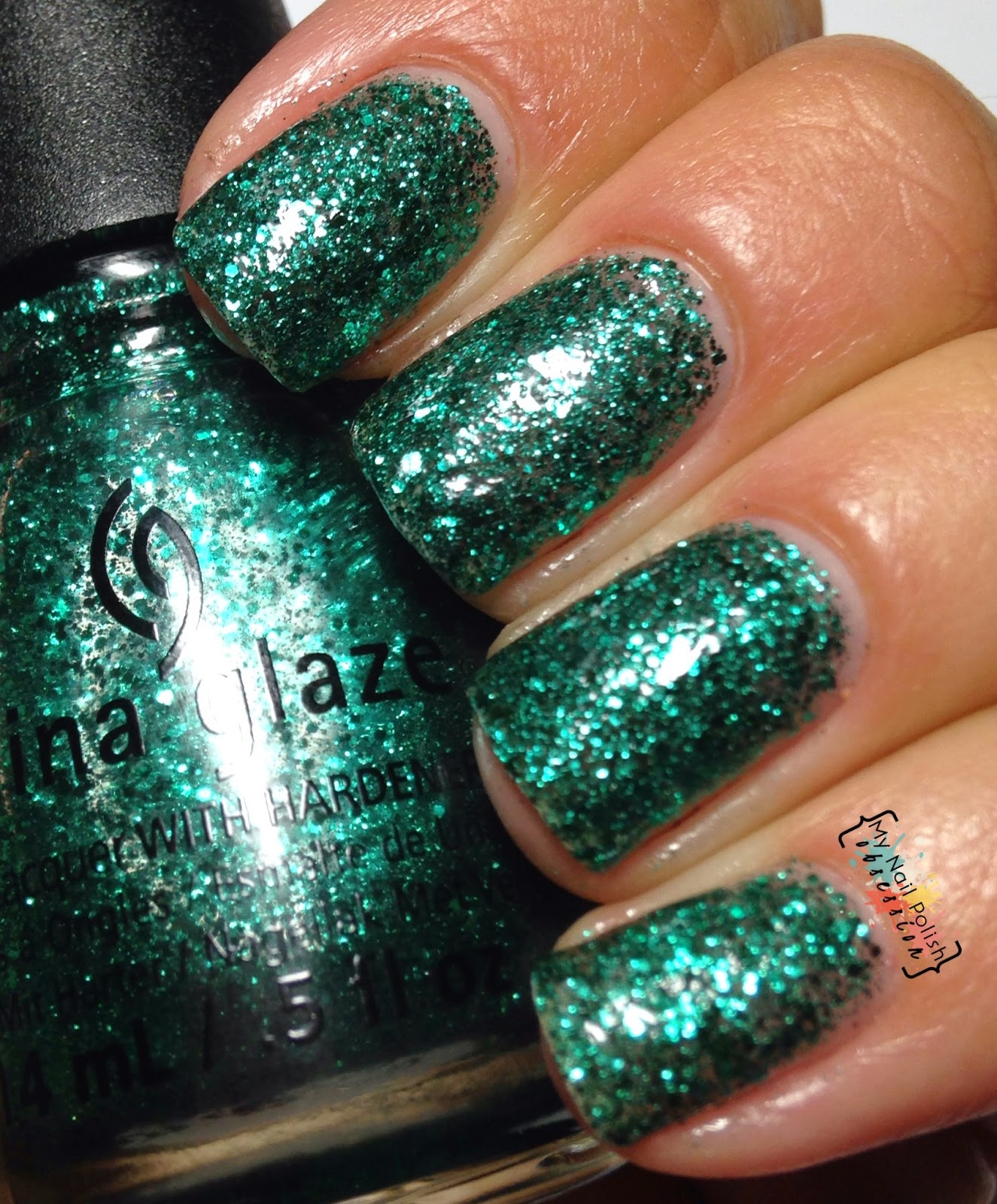 China Glaze Pine-ing For Glitter