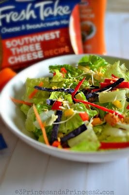 Southwest Salad Recipe #KraftFreshTake