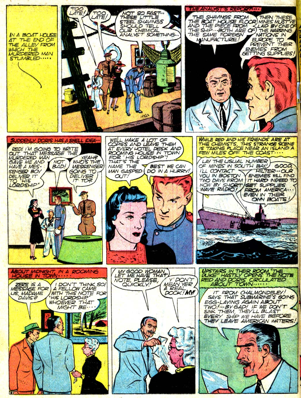 Read online All-American Comics (1939) comic -  Issue #15 - 63