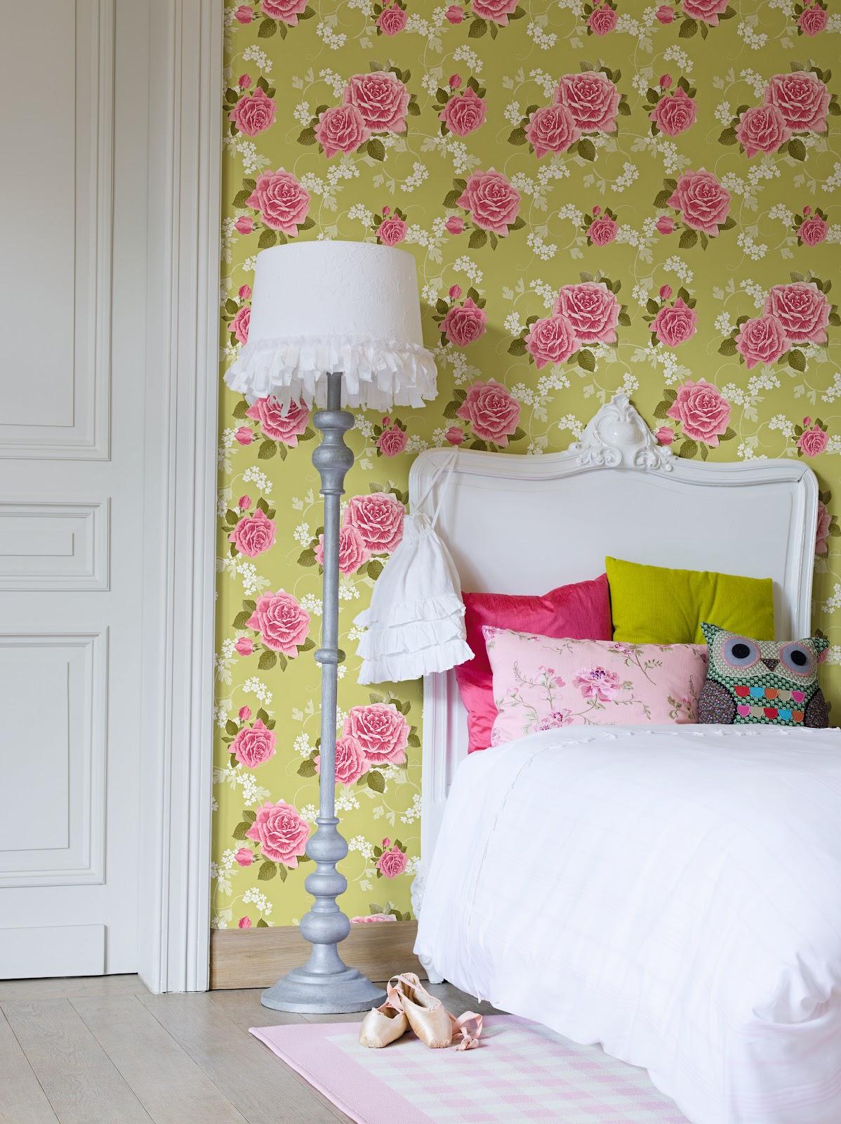 Papeles pintados aribau la vie en rose nueva colecci n - Papeles pintados aribau ...