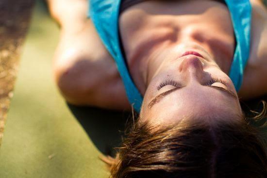 yoga: savasana