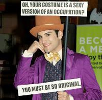 disfraz meme Willy Wonka