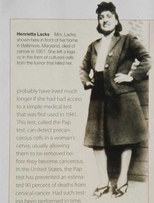 henritta lacks Watch video henrietta lacks is best known as the source of cells that form the hela line, used extensively in medical research since the 1950s.