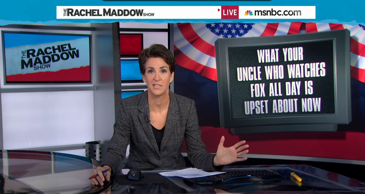 Rachel Maddow Blasts Fox's Hypocrisy On Gas Prices