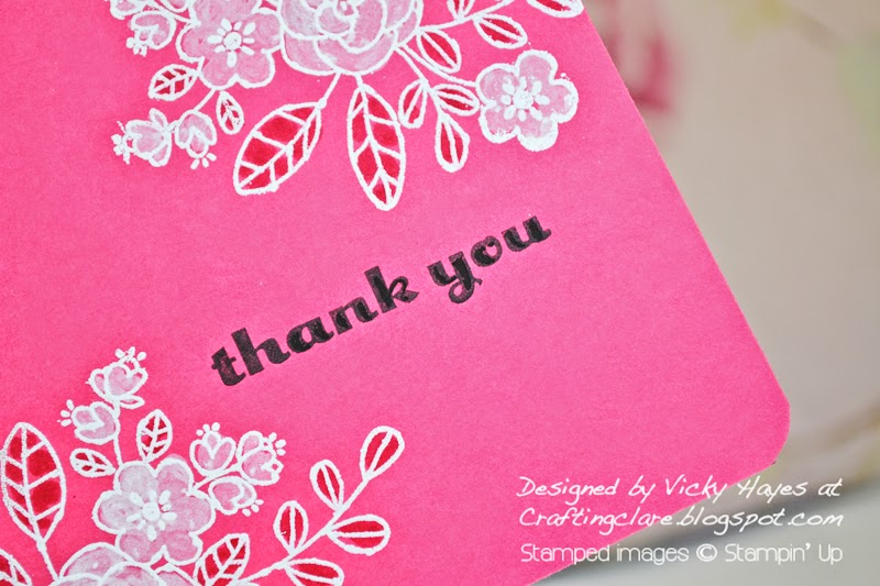buy Regarding dahlias from Stampin up online from Vicky at Crafting Clares paper moments