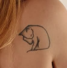 Sugestões de Tatuagens de Gato