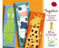 Puzze de 3 piezas, puzzle girafa, puzzle vaca, puzzle morsa