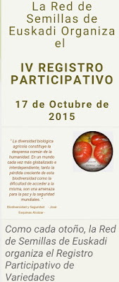Red de semillas de Euskadi