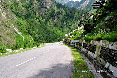Trek Route to the Valley of Flowers