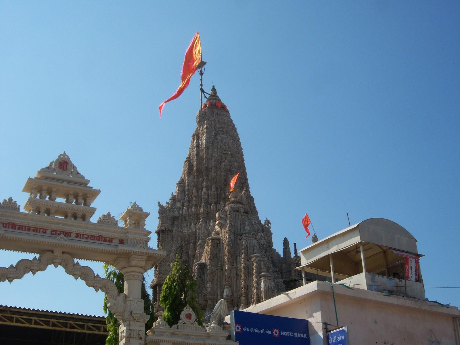 dwarakadhishsri krishna temple in dev bhumi dwaraka