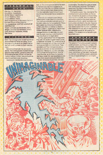 El Inimaginable (ficha dc comics)
