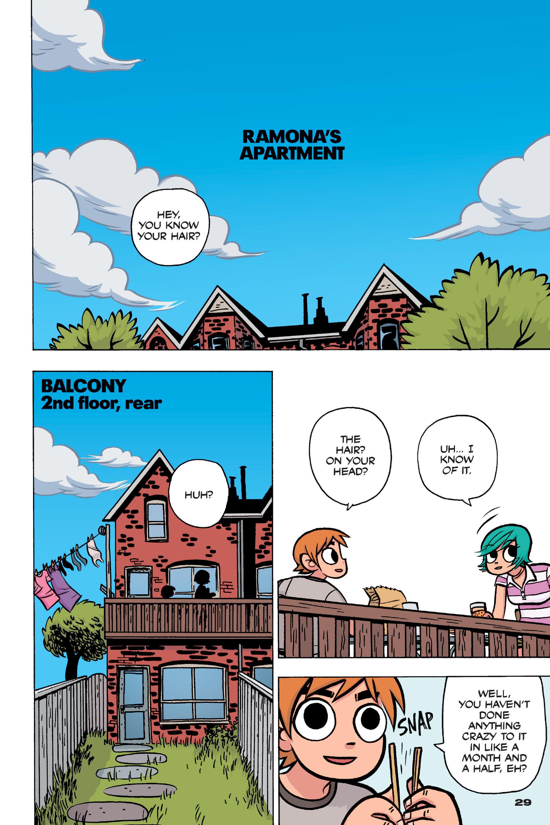 Read online Scott Pilgrim comic -  Issue #4 - 28