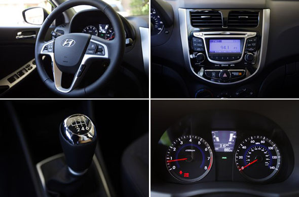Hyundai Accent Receives 2012 Interior Of The Year