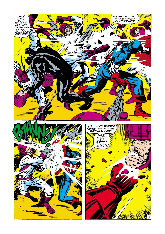 Captain America (1968) Issue #100 #14 - English 10