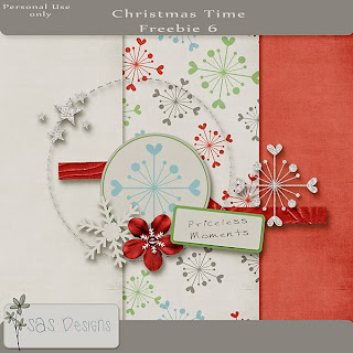 Christmas Time 20% off and Day 6 freebie