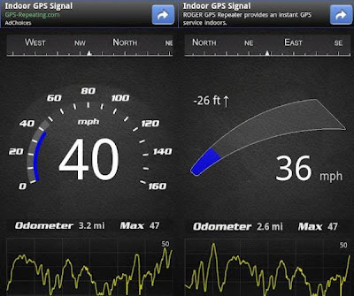 SpeedView – advanced GPS speedometer app for Android