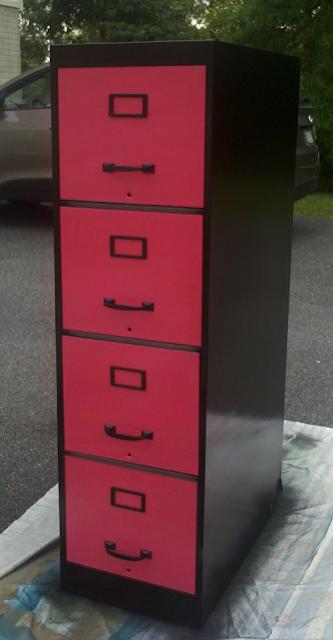 file cabinet makeover. Black Bedroom Furniture Sets. Home Design Ideas
