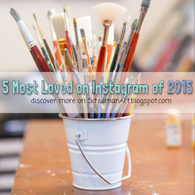 5 most popular instagram posts by @schulmanArt http://schulmanart.blogspot.com/2015/12/5-most-loved-instagram-posts-2015.html