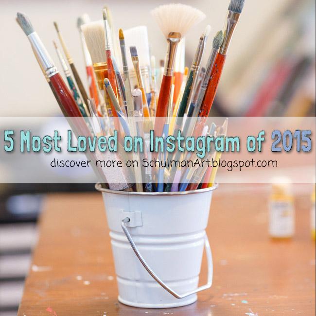 5 most popular instagram posts by @schulmanArt http://schulmanart.blogspot.com/2015/12/5-most-loved-instagram-posts-2015.html