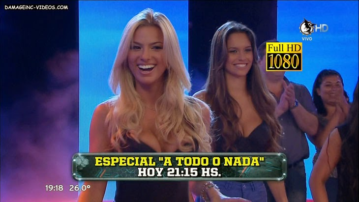 Ailen Bechara and Sofia Gonzalez big boobs on HD TV