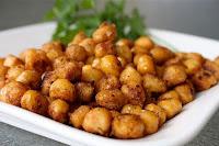Grão-de-Bico Frito (vegana)