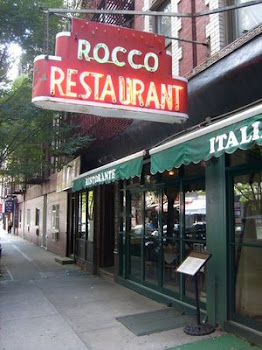 ROCCO RESTAURANT.. SULLIVAN to Close ..