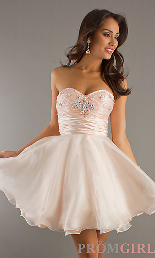 White Short Formal Dresses 2014 Gallery Fusion