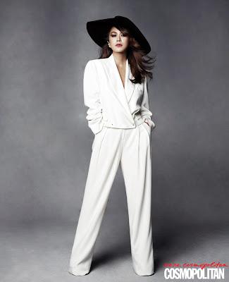 Uhm Jung Hwa - Cosmopolitan Magazine June Issue 2013