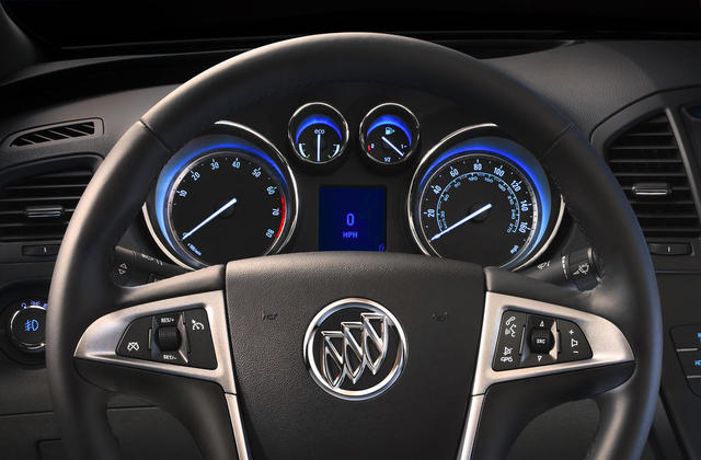 2012 Buick Regal instrument cluster