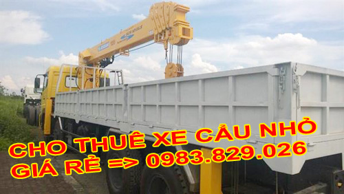 thuê xe tải chở hàng hóa