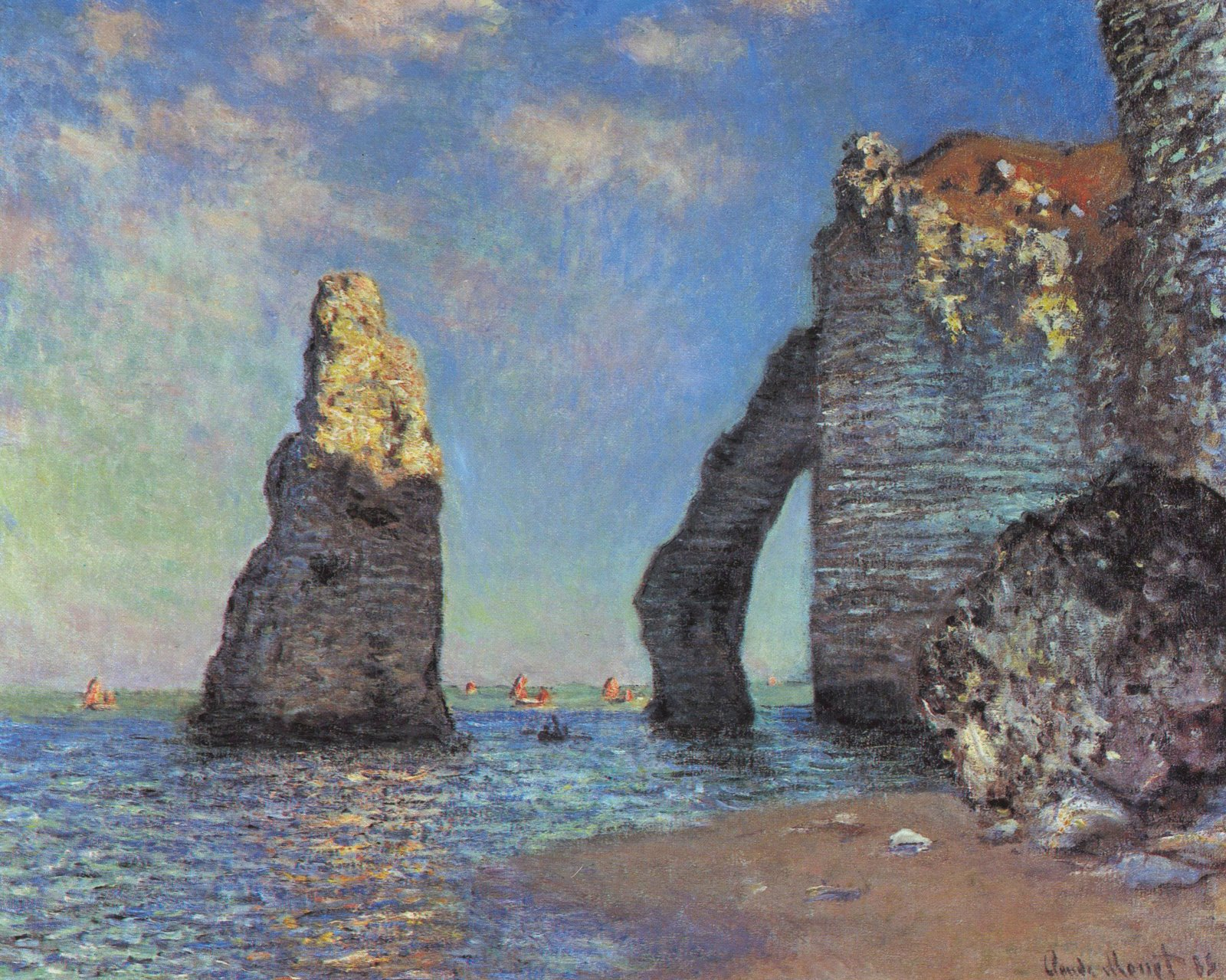 Color in our world the impressionists for Claude monet impressionist paintings