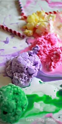 Frozen Smoothie Paint Recipe
