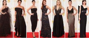 Premios Emmy 2014. Los vestidos negros de las celebridades.