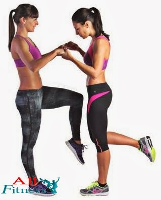 Forward and backward lunges