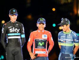 Podio Vuelta 2016