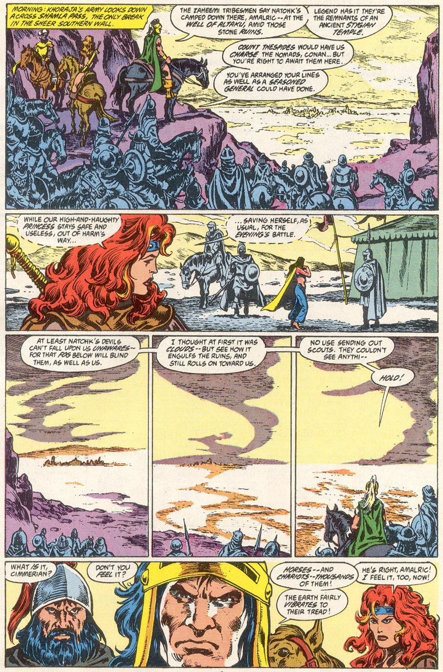 Conan the Barbarian (1970) Issue #249 #261 - English 7