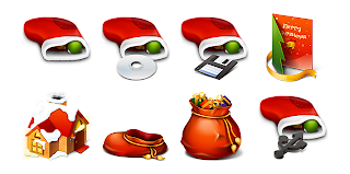 Christmas 3d Icons Images
