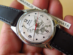 HMT JANATA MILITARY WHITE DIAL - MAHATMA GANDHI LOGO ON DIAL - MANUAL WINDING