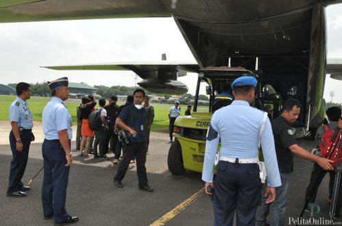 BNPB dan TNI AU Lakukan Misi Teknologi  Modifikasi Cuaca di wilayah Jakarta dan Sekitarnya