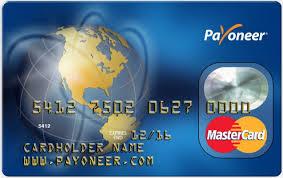 Aktivasi Payoneer MasterCard