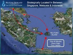 peta pulau belitung