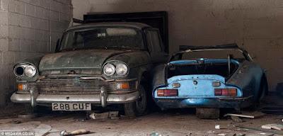 Carros Abandonados