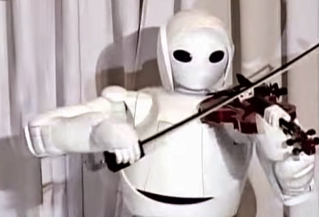 The Robot Violin Concerto