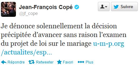 Tweet Jean-François Copé