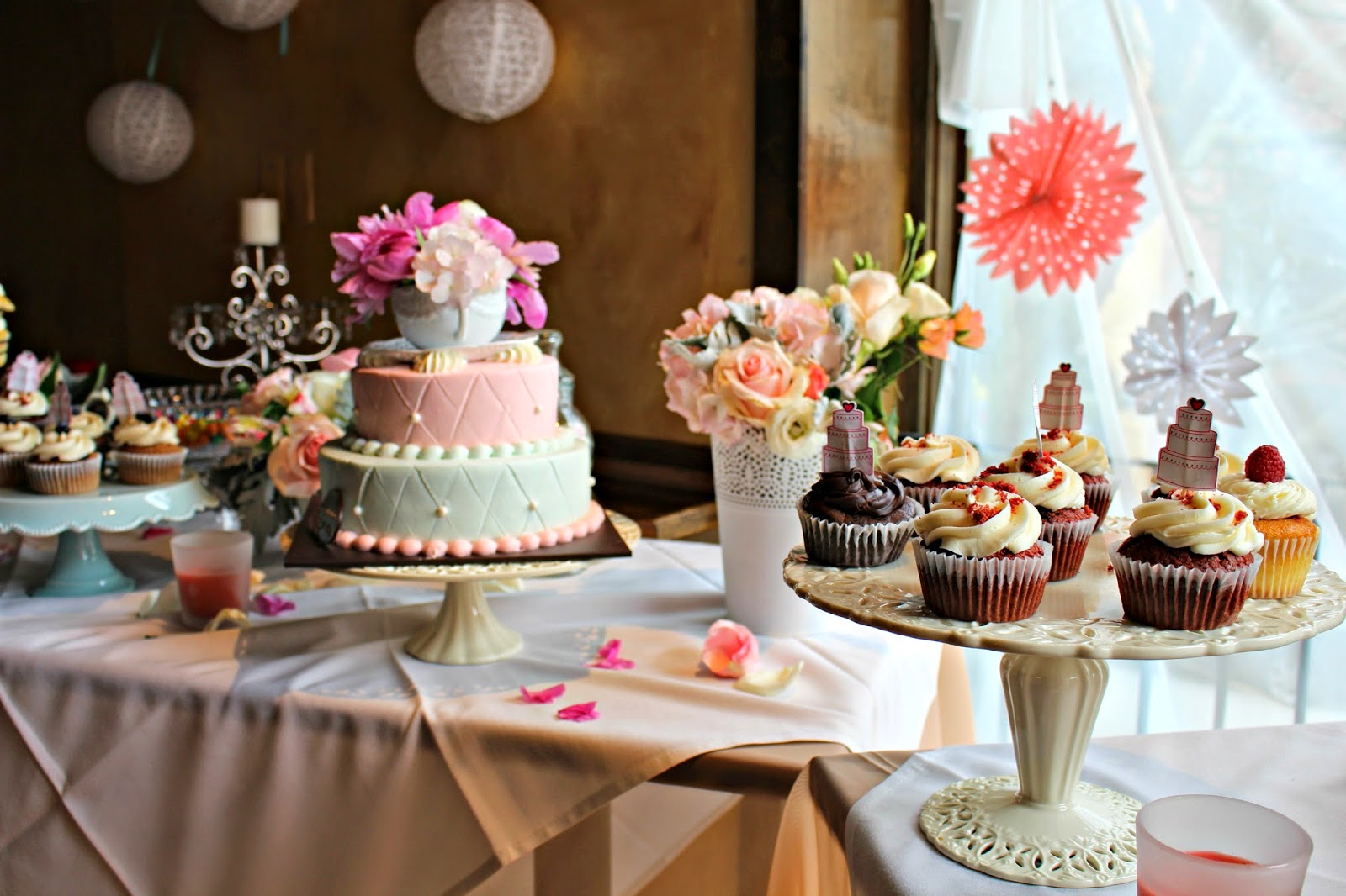 Baby Showers North London ~ High tea ideas for baby shower afternoon
