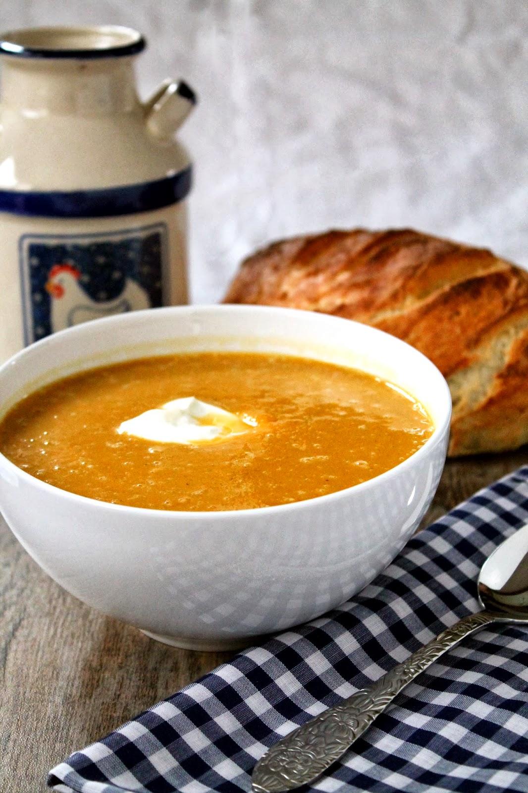 Masala-Spiced Roasted Butternut Squash Soup